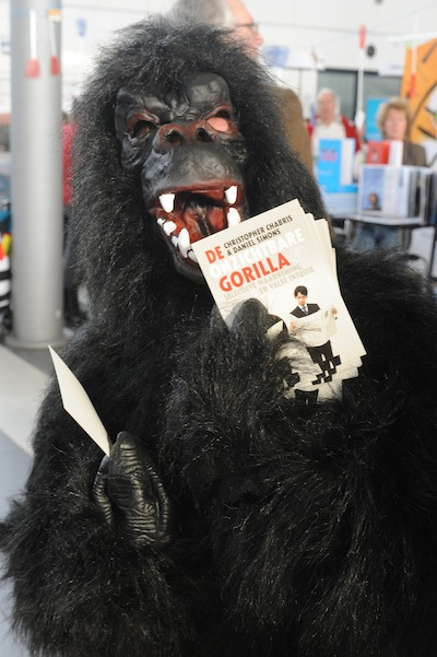 invisible gorilla in the Netherlands