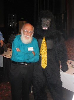 Gorilla with James Randi